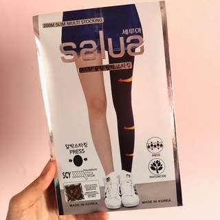 (包郵)韓國salua科學壓力塑腿褲襪 200M