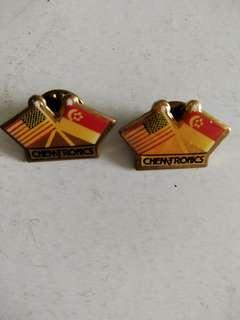 Aerospace industry pins