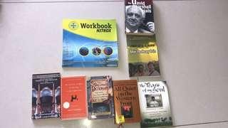 Fiction and non-fiction books to bless #SpringcleanandCarouSell