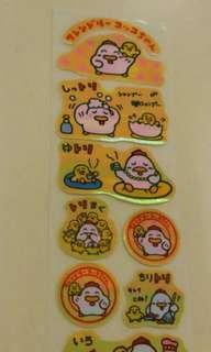 Sanrio 肥雞貼紙