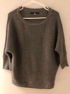 ONLY grey knit jumper sweater