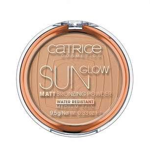 #CNY888 preloved catrice sun glow matt bronzing powder