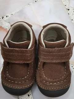 Stride ride brown shoes for boys