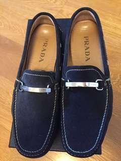 Prada men's suede shoes-size 6.5