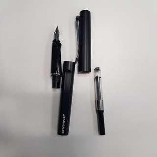 Jinhao fountain pen matte black