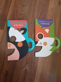 Animal Masks Book Bundle