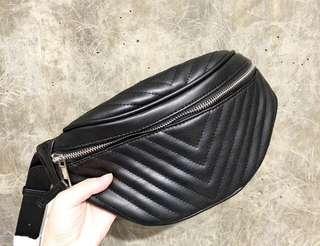 Stradivarius Chevron Bum Bag