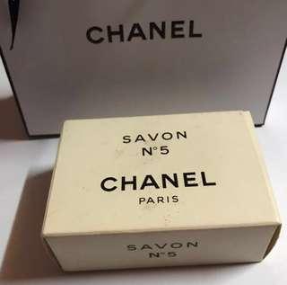Authentic Chanel No.5 bath soap (soap bar sealed)