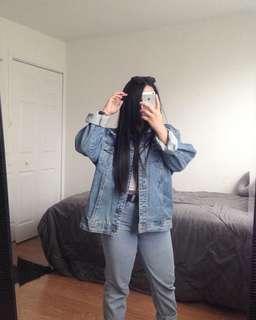 Jones NY oversized denim jacket