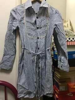🈹❗️Brand New Long striped shirt間條衫/裙