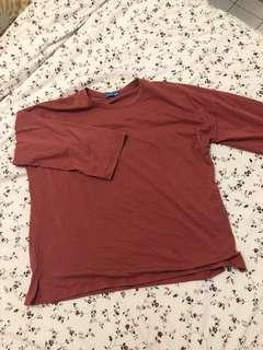 Oversize shirt comfy cotton material