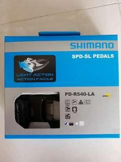 Shimano PD-R540 Light Action SPD-SL Pedals