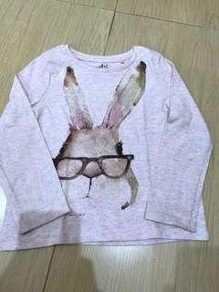 Bunny sparkle tshirt
