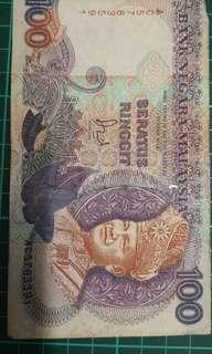 Old note RM 100