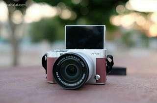 Dijual cepat BU kamera mirrorless fujifilm xa 3 garansi
