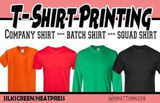 T-shirt Printing Service W/ Shirt included‼️🔥