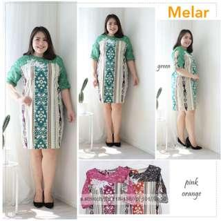 Dress Batik Hijau Jumbo Dress Batik Pink Jumbo Dress Batik Orange Jumbo Dress Batik Jumbo XXL XXXL