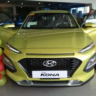 Hyundai Kona extended family Promo's 60K 60K 60K apply Now and get unexpected freebies O956-7292251