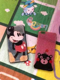 Mickey and Panda iphone 6s+ case