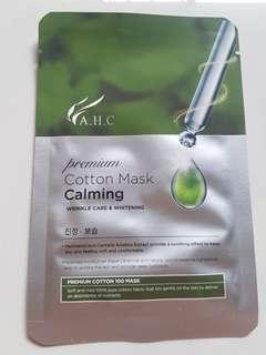 🚚 A.H.C. Premium Cotton Mask [Calming]