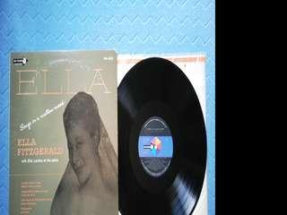 Ella Fitzgerald SONGS IN A MELLOW MOOD LP