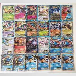 CNY Clearing!! Pokemon cards EX/GX/PRISM STARs/BREAKs