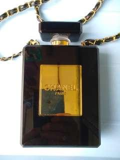 CHANEL香奈儿(Chanel)N°5香水瓶晚宴包
