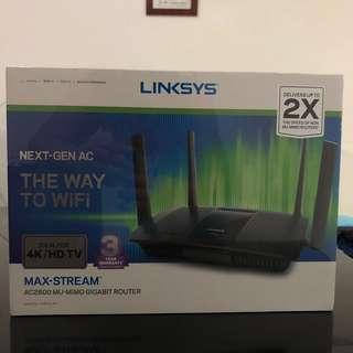 Linksys EA8100-AH Max-Stream AC2600 wireless router