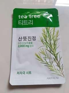 🚚 Aritaum Fresh Essence Mask Tea Tree