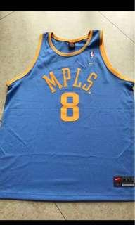 Kobe Bryant Nike Swingman MPLS Lakers HWC Jersey