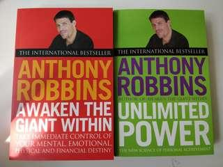 Awaken The Giant Within + Unlimited Power, by Anthony Robbins