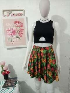 Floral Skirt (Top not included)