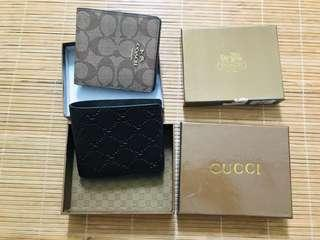 Gucci Wallet & Coach wallet premium
