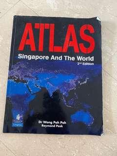 Atlas geography book