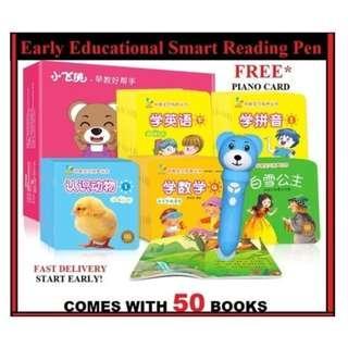 Children Enlightenment Language Learning Machine Book Smart Logic Reading Pen Toy