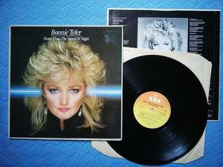 Bonnie Tyler FASTER THAN THE SPEED OF NIGHT LP