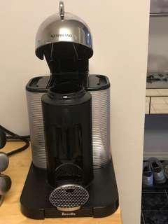 Stainless steel Nespresso Vertuoline