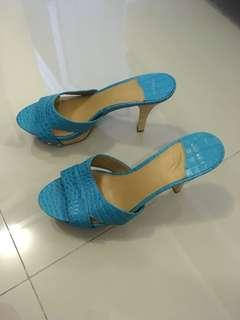 Nine West Summer Blue heels S39