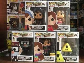 Gravity Falls Funko Pop Set