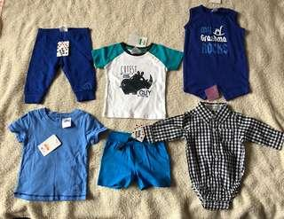 Brand new baby boy clothing