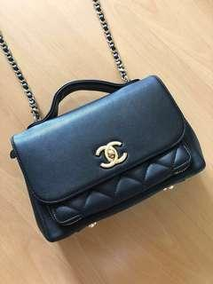 Chanel inspired business affinity medium (Boutique grade)