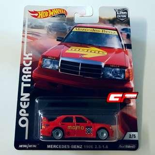 HOT WHEELS MERCEDES-BENZ 190E 2.5-1.6