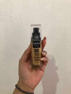 NYX Can't Stop Won't Stop Foundation