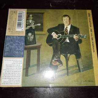 Eric Clapton Me and Mr. Johnson CD