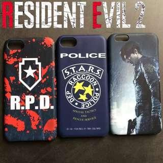 Resident Evil 2 Phone Covers / Cases [Coloured Sides]