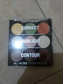 City color all in one cream palette