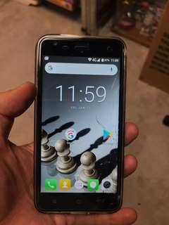 Blackview A7 android phone ( sceen cracked )full box