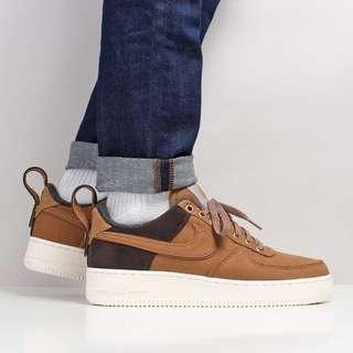 Nike X Carhartt WIP Air Force 1 '07 Premium Shoes – Ale Brown/Ale Brown/Sail