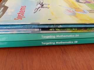 Free to quote all p5 textbooks.Targeting Maths, science