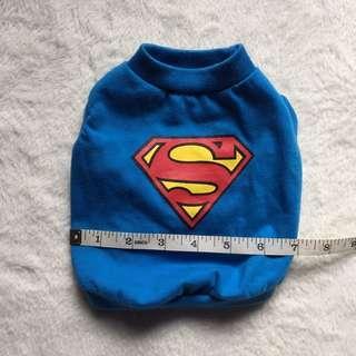 Superman Puppy Clothes